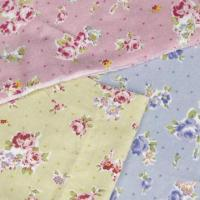 China Cotton Printed Velvet Fabric, 41 to 42-inch Width on sale