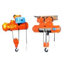 Double speed wire rope motor hoist manaufacturer Manufactures