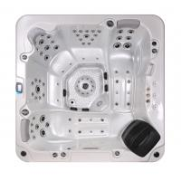 Corner Location Hydrotherapy Hot Tub Spa 5 Person Capacity Ponfit With Bluetooth Speakers Manufactures