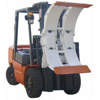 White Forklift Truck Attachments Paper Roll Clamp With High Performance Hose Manufactures