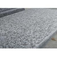 66.5Mpa Compressive Strength Granite Bathroom Tiles , Grey Granite Floor Tiles Manufactures