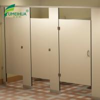 Waterproof Wood Grain Compact Laminate Washroom Toilet Partitions Prices For Sale Of Szfumeihua