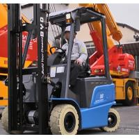 AC Motor Battery Powered Forklift 1500Kg Electric Fork Truck With Solid Tires Manufactures