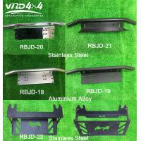 Auto Car Front License plate frame Stainless steel / Aluminum alloy Silver / Black Manufactures