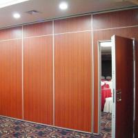 China Wooden Soundproof Folding Office Partition Walls Singapore / Movable Partition Wall Systems on sale
