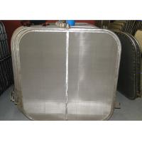 No Pollution SUS316L Filter Leaves Used For Horizontal Pressure Leaf Filters Manufactures