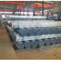 China hot dipped galvanized steel pipe for greenhouse frame made in China market factory mill on sale