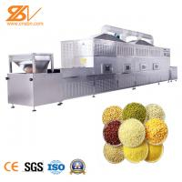 Automatic Tunnel Microwave Vacuum Drying Equipment Egetables Grains Seasoning Microwave Dryer Manufactures