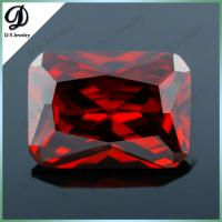 China Loose AAA rectangle european machine cut wholesale cubic zirconia for watches/jewelry on sale