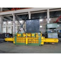 Scrap baling Machine / Hydraulic Metal Baler For Waste Aluminum , Stainless Steel Manufactures