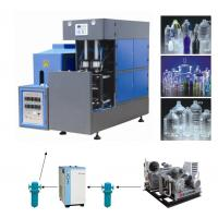 Full Automatic 4000BPH Bottle Blowing Machine , PET Bottle Injection Moulding Machine Manufactures