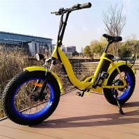 Range 50 - 60km Womens Electric Bike / 20 Inch Electric Bicycle Motor Power 48V 500W Manufactures