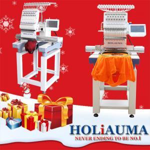 15 needles high speed single head computer embroidery machine similar to tajima embroidery machine japan Manufactures