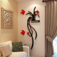 Fashion Beautiful Flowers Bedroom wallpaper for living room 3d flower wall stickers decal Manufactures