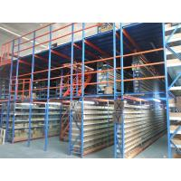 Multi Layer Industrial Metal Mezzanine Systems Weight Capacity 200-1000 KGS / Square Meter Manufactures