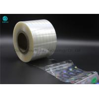Transparency Holographic BOPP High Shrink Film 2400m - 2800m Length Thermal Laminating Manufactures
