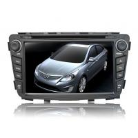 China 7 Inch Car TV Bluetooth DVD Player with Windows CE 6.0 / AM / RDS / for Hyundai Verna on sale