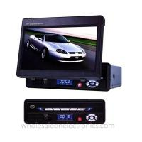 9.5 inch portable dvd player with fm tuner support SD/MMC card reader