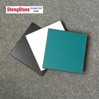 Black double-sided corrosion resistant physical and chemical board,phenolic board,1220*2440mm Manufactures