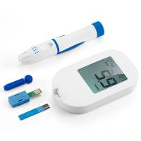 China High Blood Sugar Level Monitorwith Test Strips , Blood Sugar Device on sale