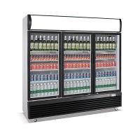 1030L upright three door defrost direct cooling display beverage cooler/display cooler/display fridge/beverage showcase Manufactures