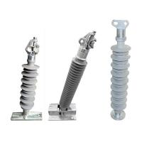 Hot sell high voltage post silicone rubber electrical insulators and Composite Insulators Manufactures
