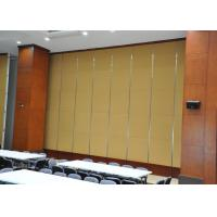 Quality Folding Acoustic Absorption Panels Slidng Door No Floor Track for sale