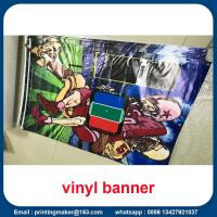 15 oz Backlit Hanging Vinyl Banners with Grommets Manufactures