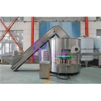 Industrial Plastic Bottle Sorting Machine / Bottle Unscrambler PLC Control Manufactures