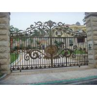 Wrought Iron Gates Ht-g1001 Manufactures