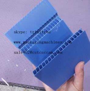 PP corrugated V cut box making folding machine Manufactures