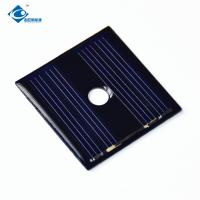 2V Silicon Photovoltaic cell 0.12W Epoxy Resin Solar Panel for Solar Energy Power ZW-3535 Lightweight Silicon Solar Manufactures