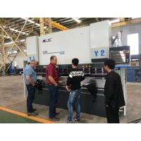Benchtop Three Axis CNC Press Brake Machine Safety High Precision 200mm/Sec Manufactures