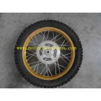 China Motocross GXT200 REAR WHEEL ASSY (DRUM BRAKE OEM Motorcycle parts GXT200 Aluminum wheel on sale