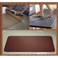 Slip Resistant Anti Fatigue Flooring Commercial Protective Floor Mats Custom Printed Manufactures