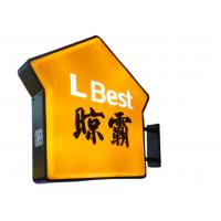 Real Estate Agent Shop Illuminated Sign Box House Shaped Low Temperature Resistant Manufactures