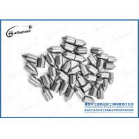 High Hardness Tungsten Carbide Buttons / Tips For Auger Tips In Excavators Manufactures