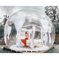 China 4m Diameter Inflatable Party Tent / Inflatable Transparent Bubble Tent on sale