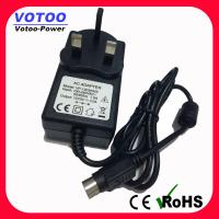 Universal 12v 3a Switching Power Adapter 50 / 60Hz With 3pin DC Plug For LED Monitor Manufactures