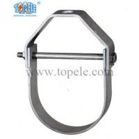 Heavy Duty Galvanized Steel Pipe Clamps Clevis Hanger With UL Standard Manufactures
