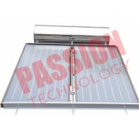 Pressurized Flat Plate Solar Water Heater Rooftop Intelligent Controller Manufactures