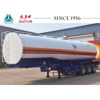 Durable 40000 Liters Tanks Trucks And Trailers Safe For Carrying Fuel / Oil Manufactures