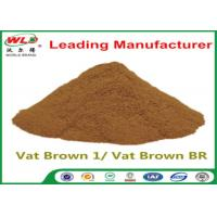 Custom Synthetic Dyes C I Vat Brown 1 Brown BR Dye For Synthetic Fabric Manufactures