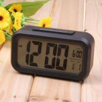 TRAVEL ALARM TABLE CLOCK WITH TEMPERATURE AND HUMIDITY AND BACKLIGHT ET639B Manufactures