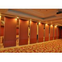 Red Carpet  Finish Temporary Office Walls  For KTV 800 - 1230MM Manufactures