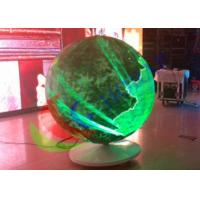 Sphere Led Video Panels Diameter 1500mm , Global LED Video Ball For Event Manufactures