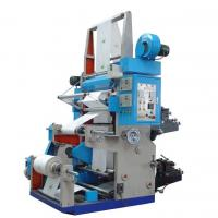 China Two colors High precision high speed flexo printing machine on sale