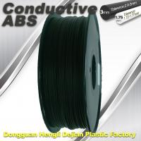 Good elasticity universal ABS Conductive 3d Printer Filament in Black Manufactures