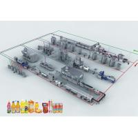 Buy cheap Asifahe All in One Milk / Yogurt /Juice Produce Processing Making Plant Line from wholesalers