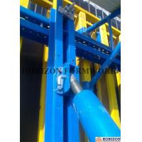 Q235 Steel Channel Single Sided Wall Formwork Supported By Telescopic Brace Manufactures